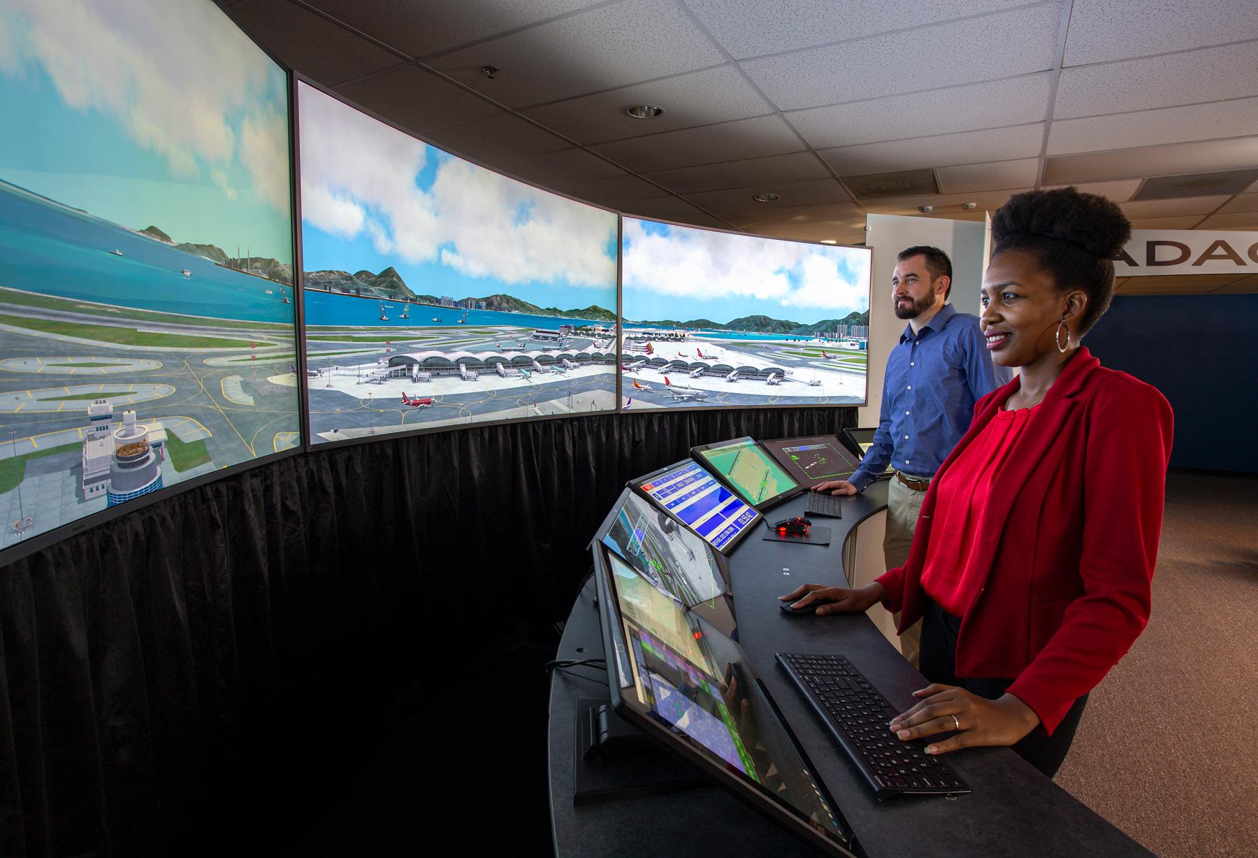MaxSim Air Traffic Control and Simulation Technology