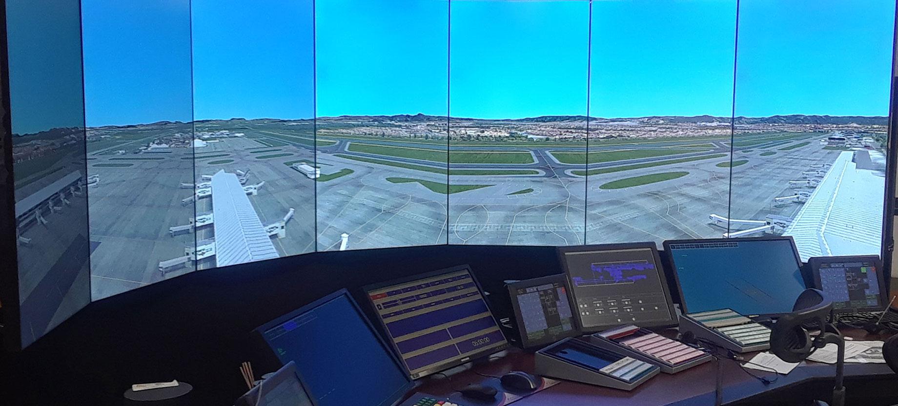 Colombian Air Force - MaxSim ATC Simulator