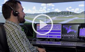 MaxSim Air Traffic Control Simulation and Training Video