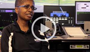 Lisa Henry Air Traffic Control Simulation and raining - MaxSim experience