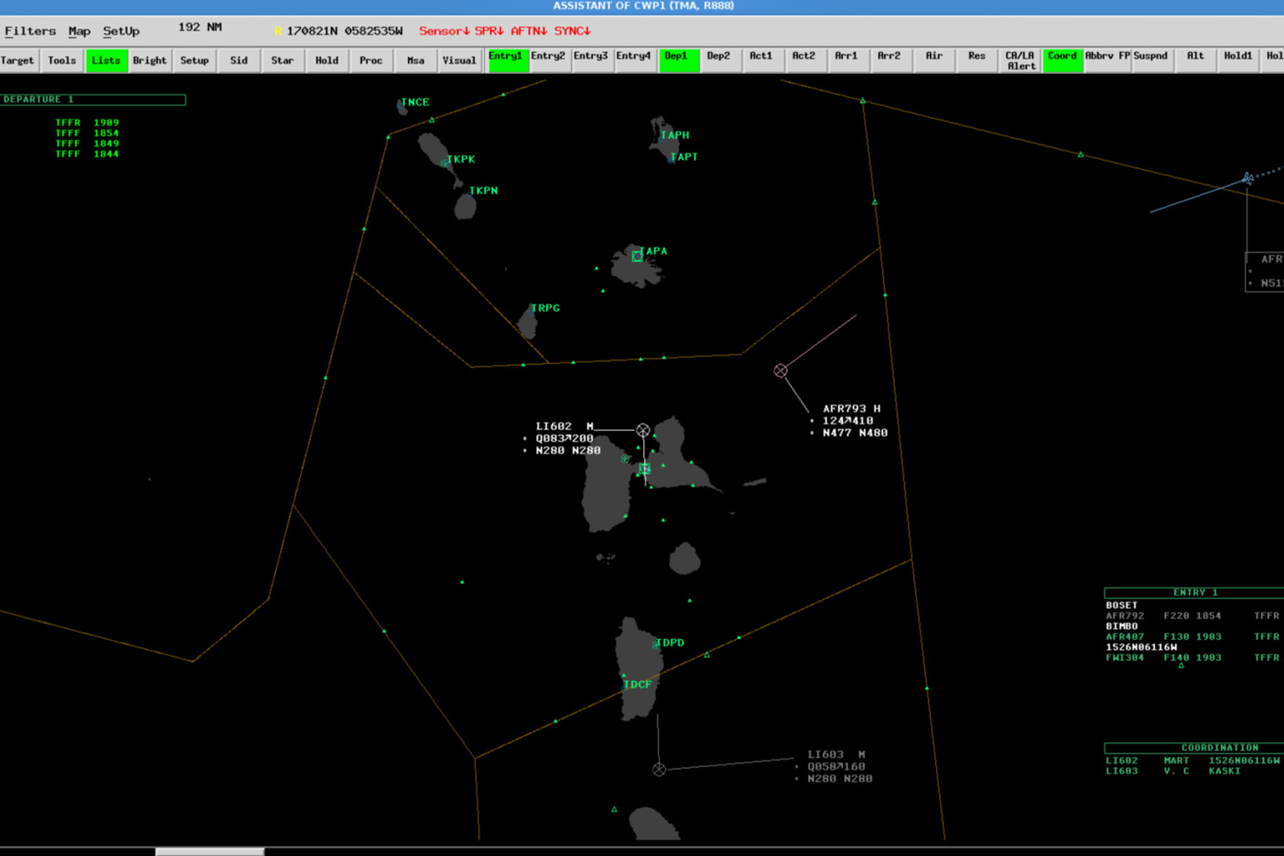 Aurora ATM - Airspace Situation Display