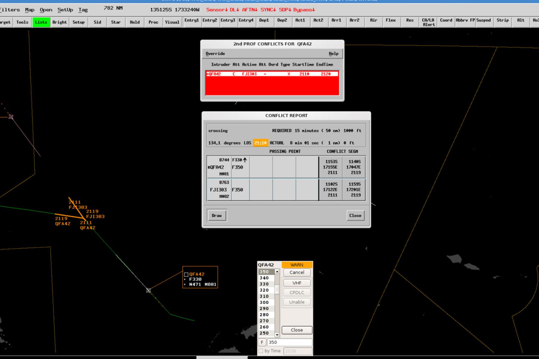 Aurora ATM - Medium-Term Conflict Detection