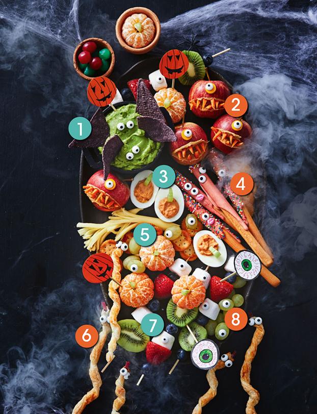 Spooky Halloween Platter