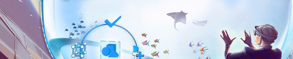 Aquarium Experience in 3D and Augmented Reality