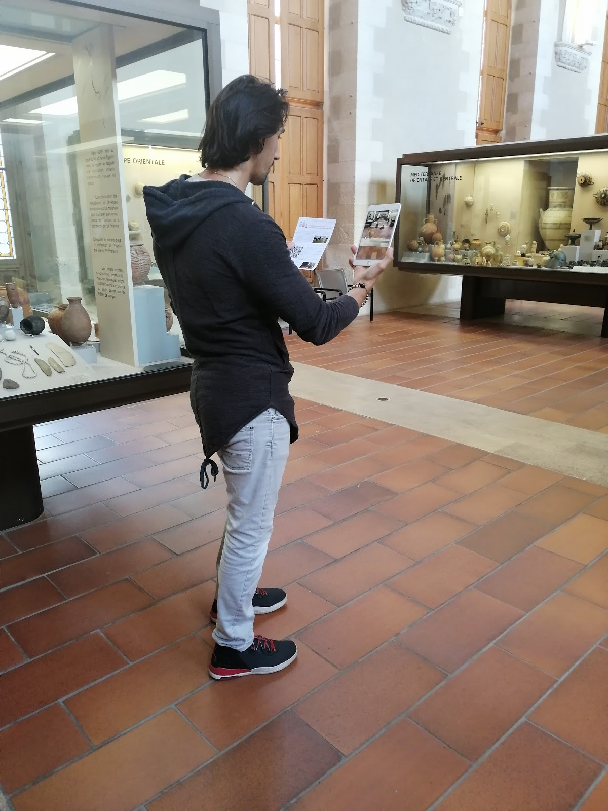Museum Visitors Augmented Reality