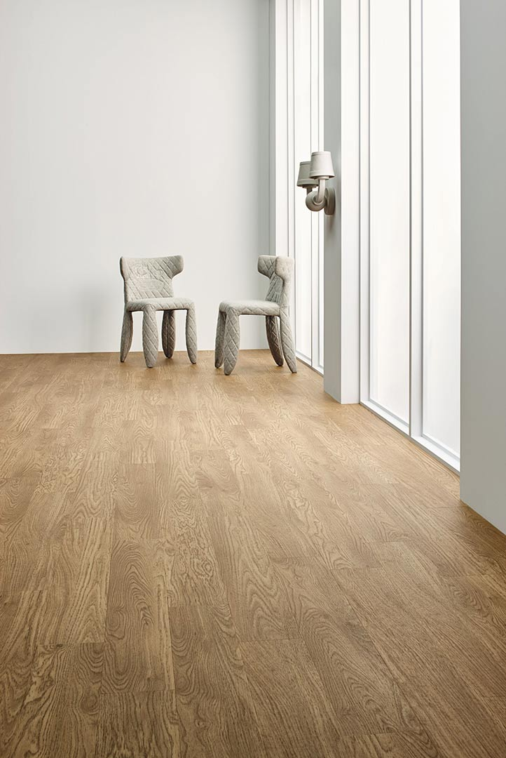 Vinylboden Waxed Oak – Helles Holz mit feiner Maserung – Gratis Muster bestellen!