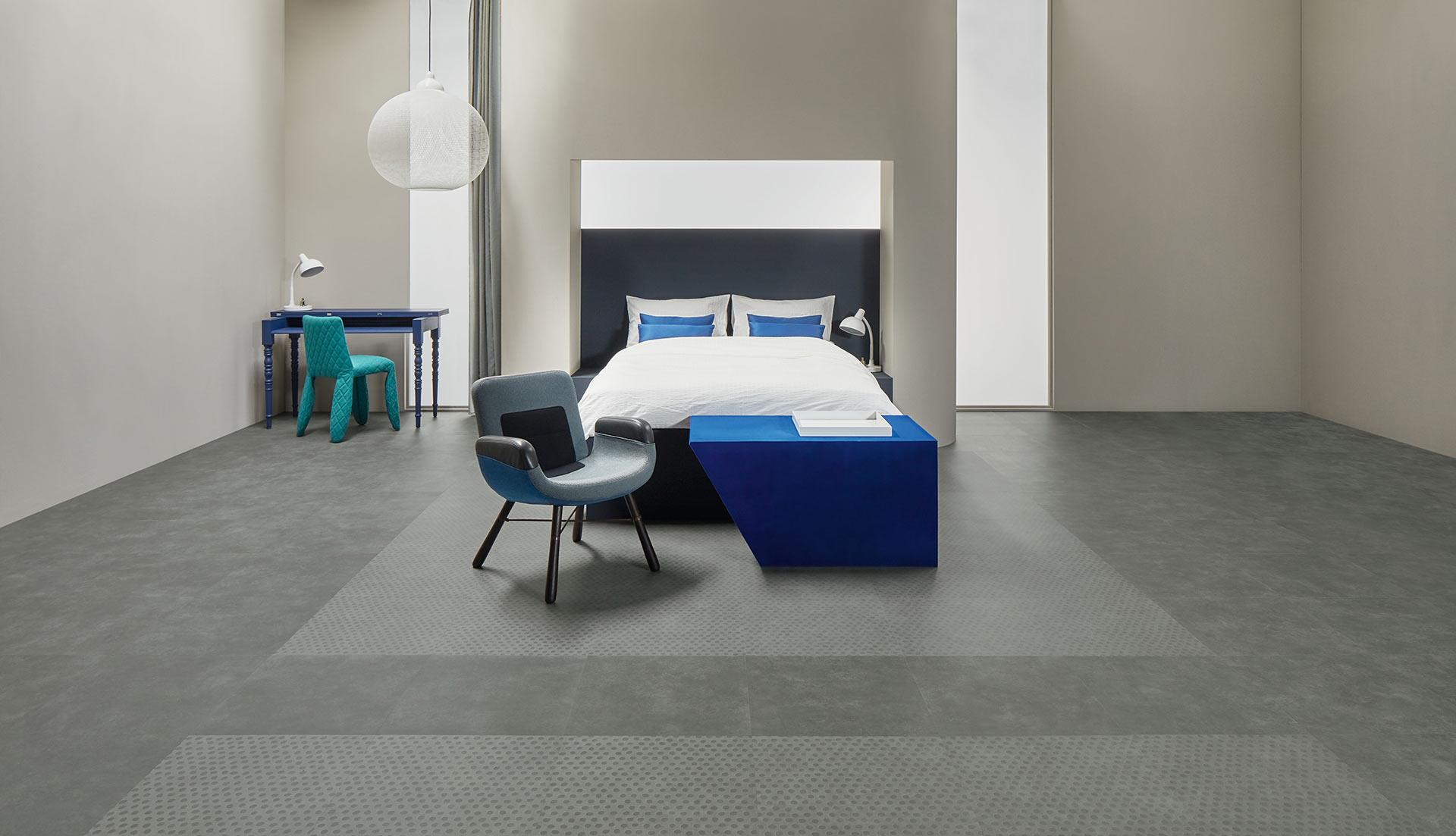 Vinylboden Natural Concrete – Minimalistischer Chic für die eigenen vier Wände: Purer Beton – Kostenloses Muster bestellen!