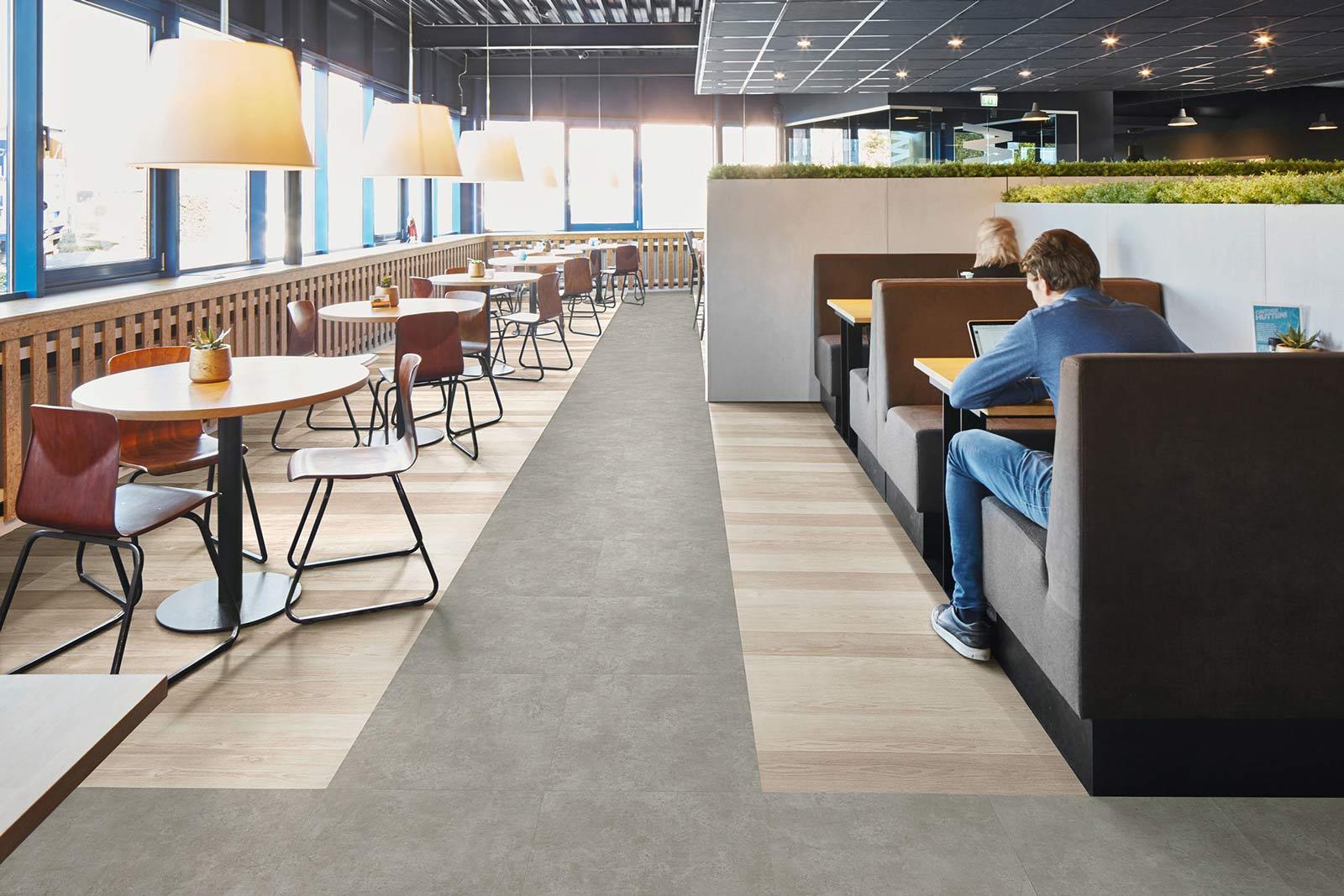Vinylboden Grigio Concrete – Farbechter Beton Chic – Kostenloses Muster bestellen!