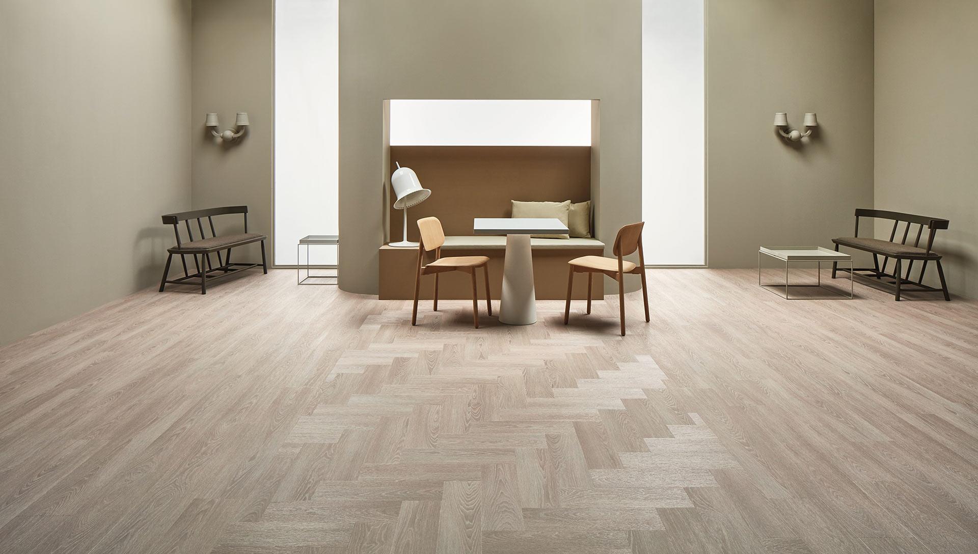 Vinylboden Bleached Timber – Rustikale Looks: Vinyl mit authentischer Holz Optik – Jetzt kostenloses Muster bestellen!
