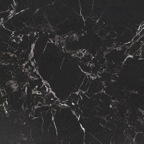Vinylboden Black Marble – Schwarzer Marmor – Muster bestellen!