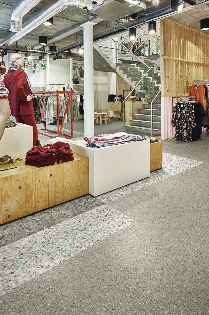 Vinylboden Grey Stone – Für Akzente: Vinyl in Naturstein Optik – Kostenloses Muster bestellen!