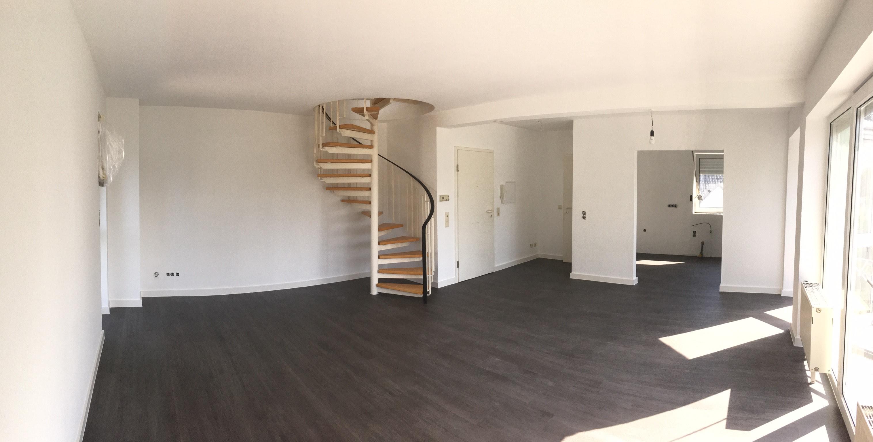 Wohnzimmer Renovierung in Köln