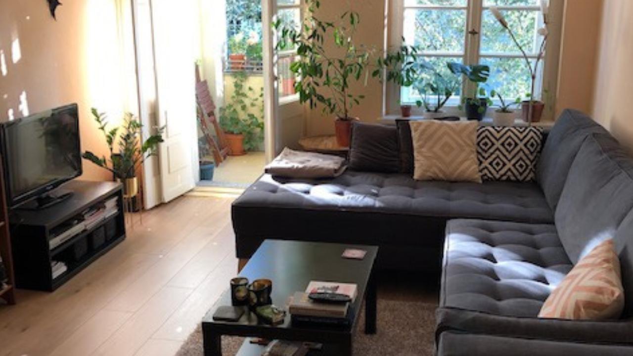 Renovierung eines Wohnzimmers in einem Berliner Altbau