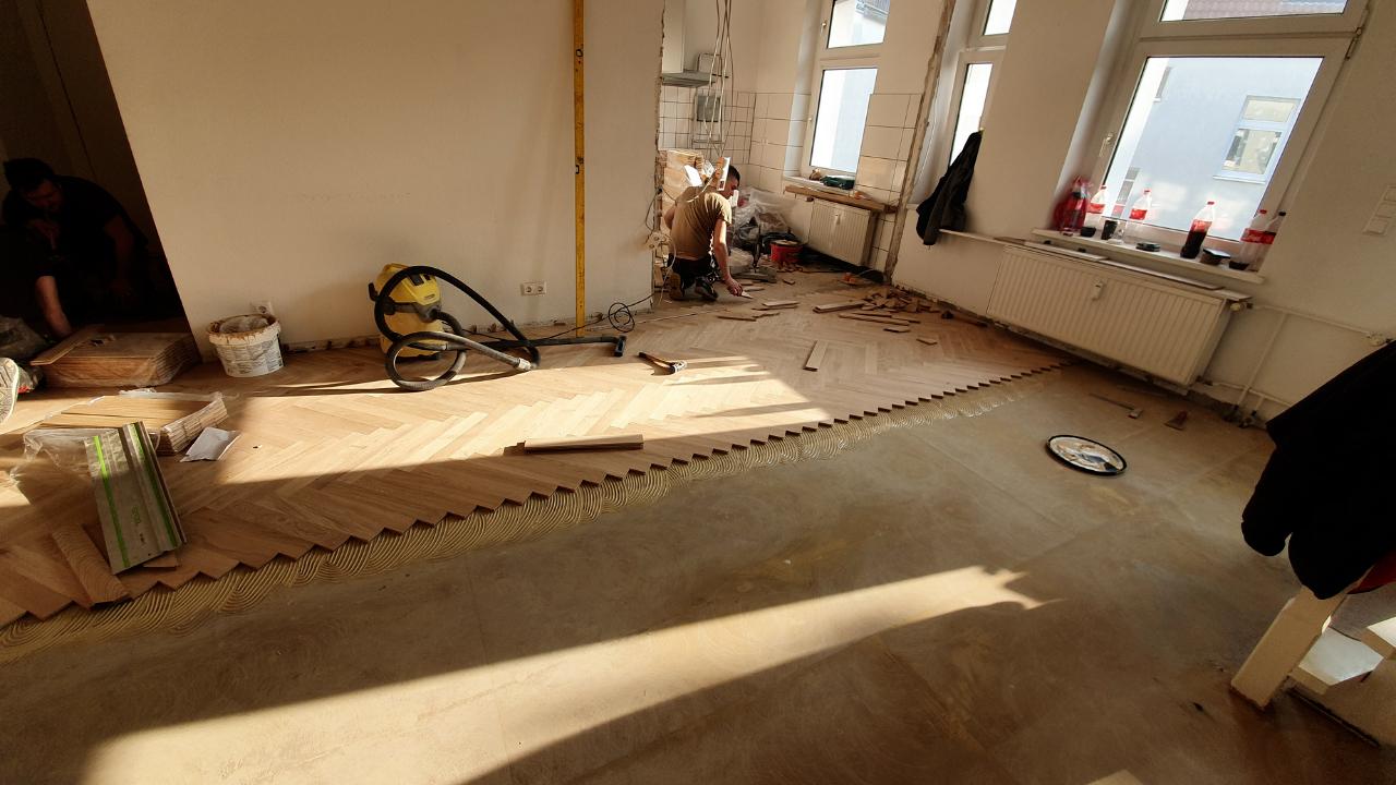 Renovierung von zwei Etagen in Berlin