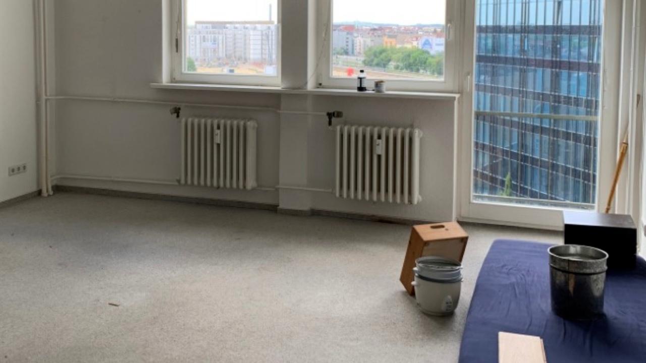 Renovierung des Wohnzimmers in Berlin