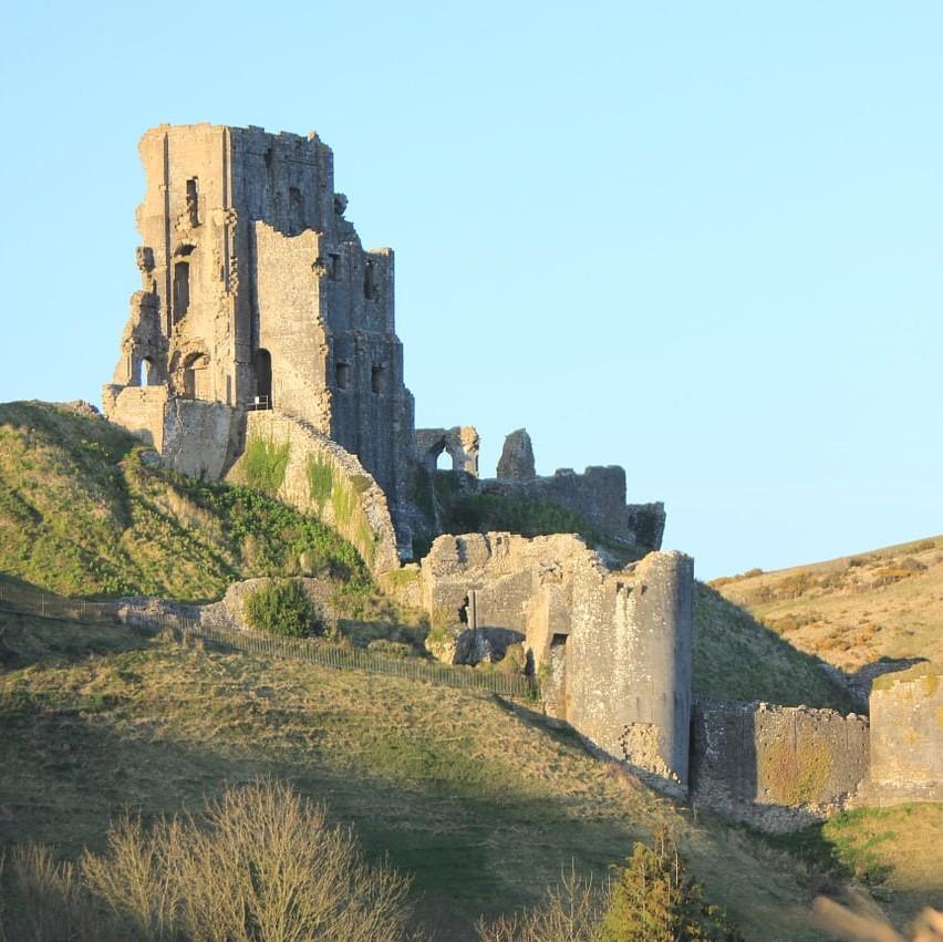 Corf Castle in Dorset