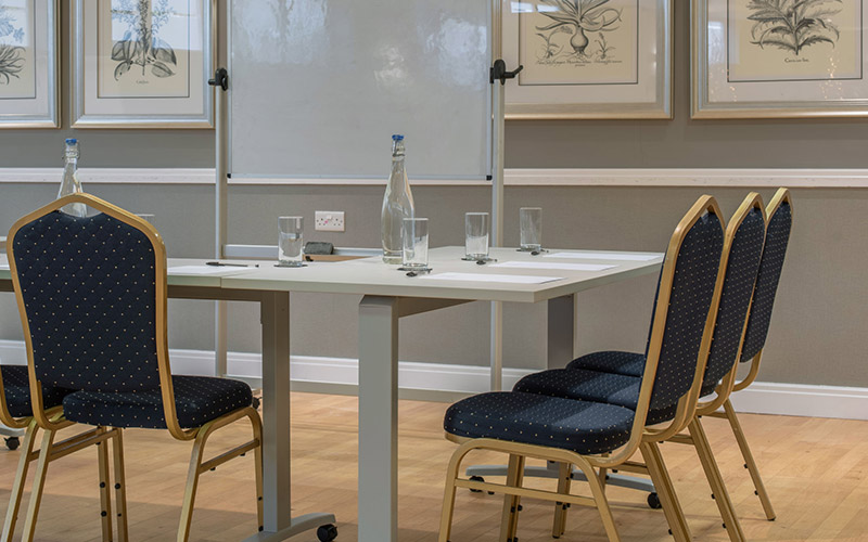 The Boardroom in the hotel Collingwood can accommodate meetings sizes of up to 20 guests