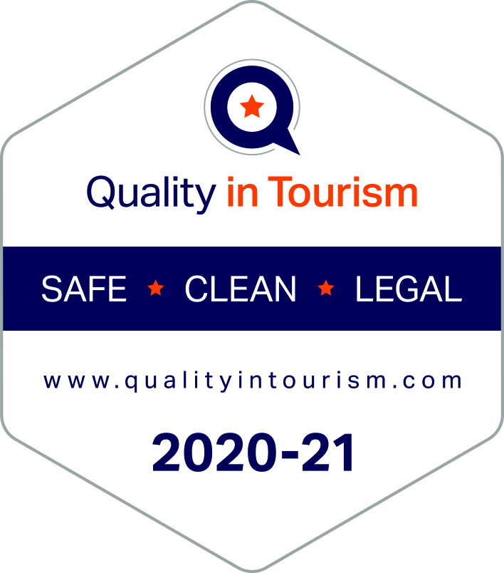 Best Western Quality in Tourism badge 2020-2021