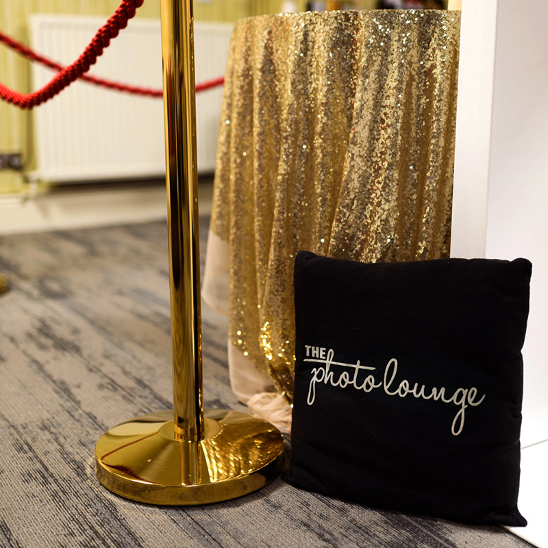 Photo booth for Christmas party hosted by Hotel Collingwood