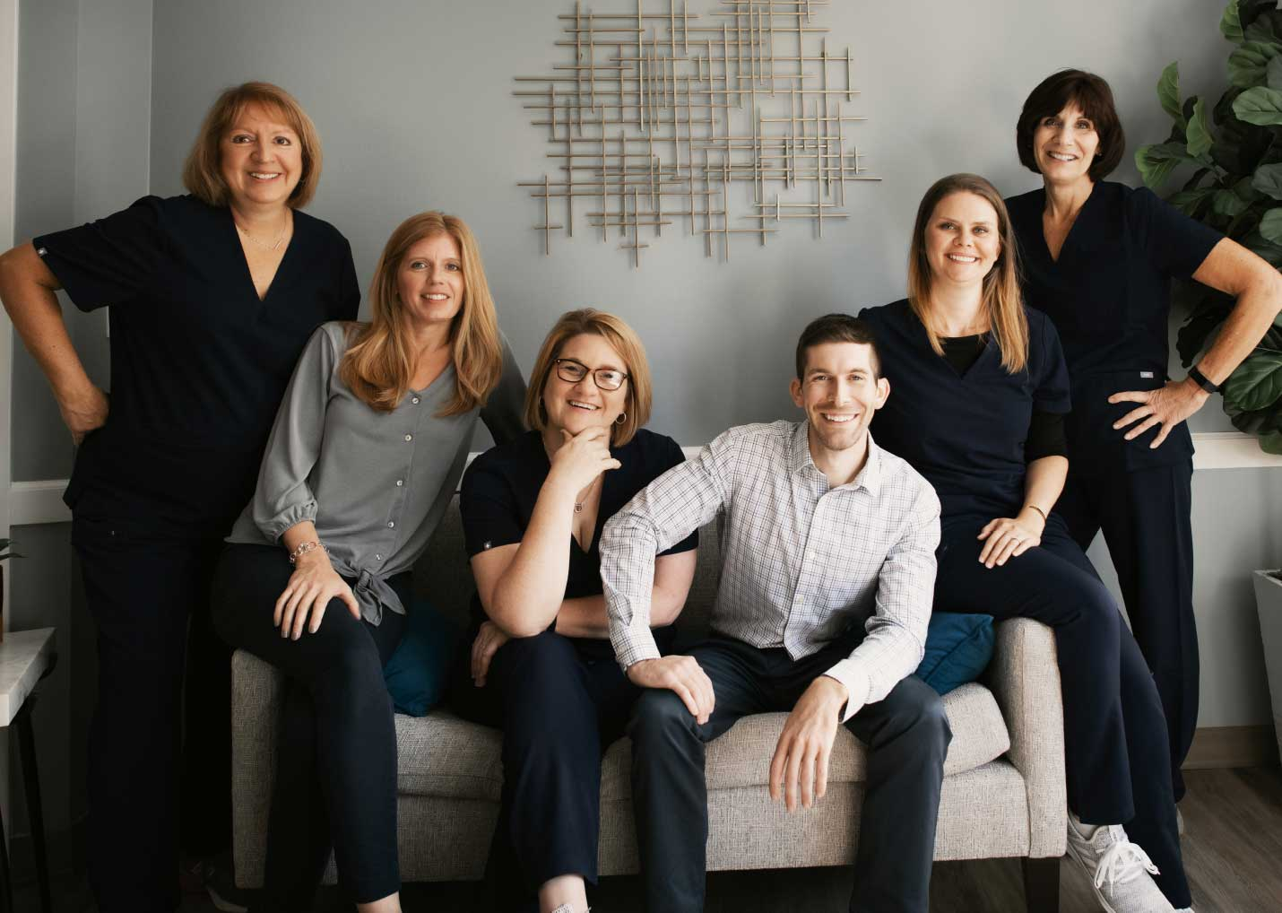 Photo of our North Huntingdon dental team