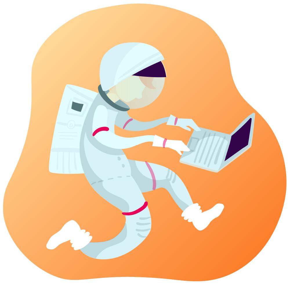 astronot-çalışma
