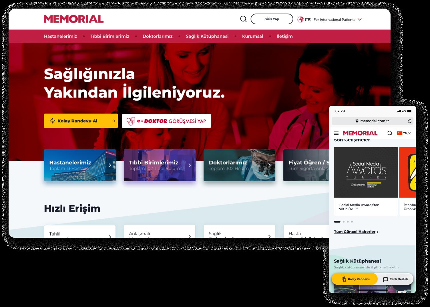 memorial web site
