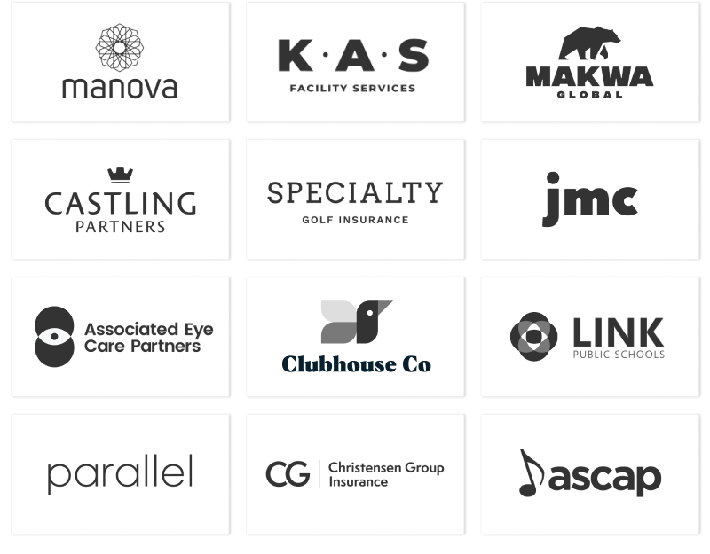 Launch + Land Client Logos