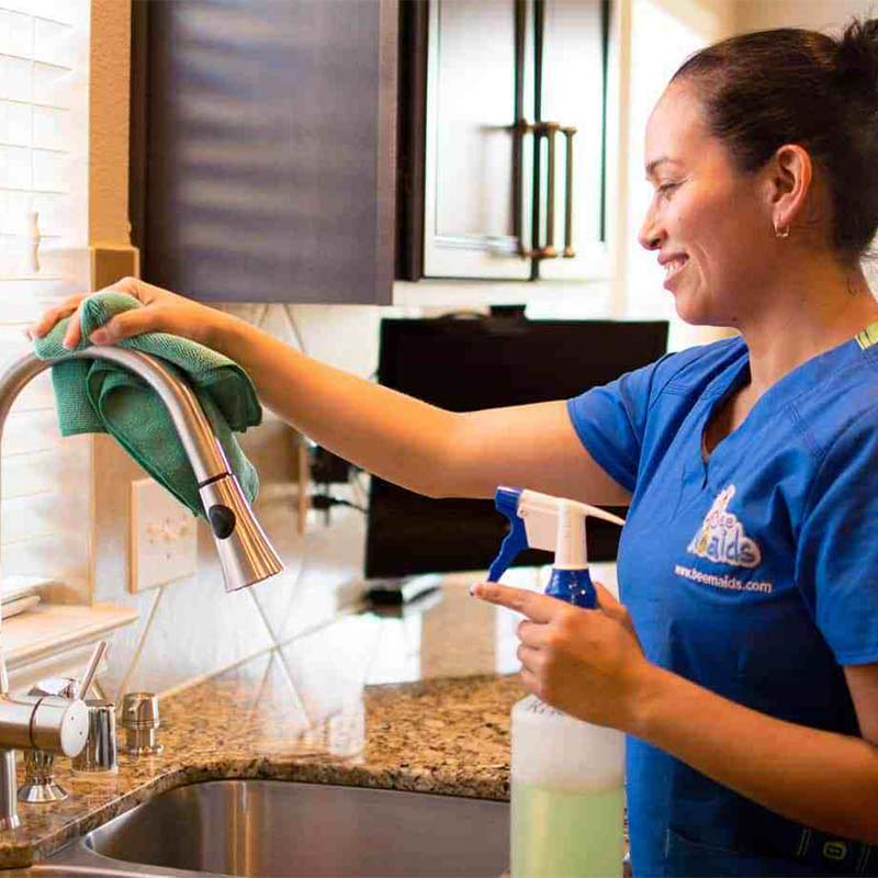 Residential cleaning services by Bee Maids