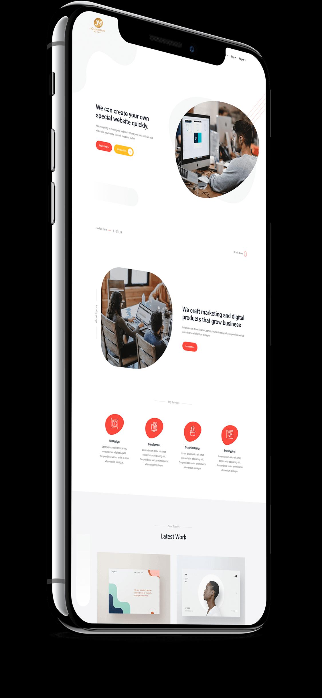 Web design - image