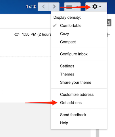 SignRequest add-on for Gmail