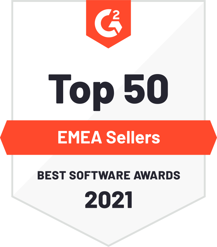 top 50 EMEA Software | G2 awards