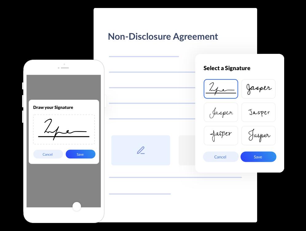 Method of e-signatures