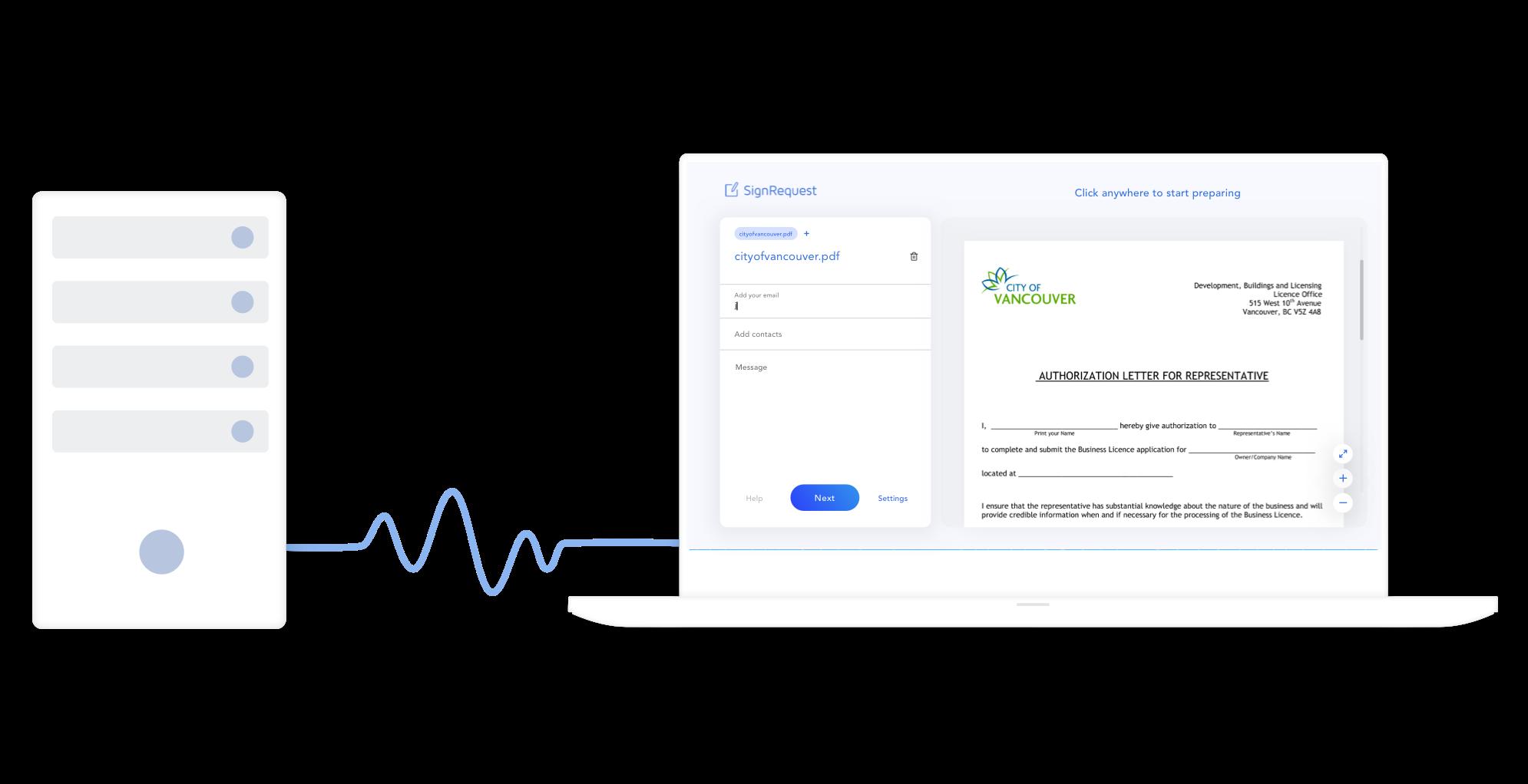E-signing REST API