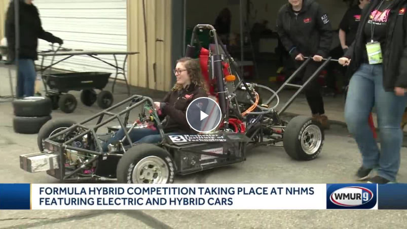 Engineering students from around world build cars to compete at NHMS