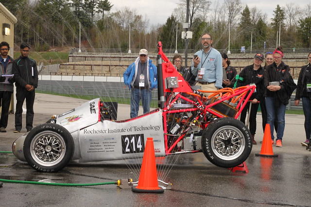 Formula Hybrid + Electric prepares students for an electrified future