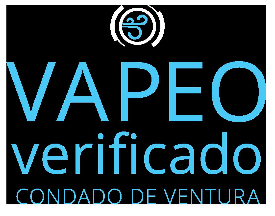 Logo de Vapeo Verificado Condado de Ventura