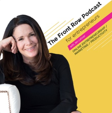 The Front Row Podcast for Entrepreneurs with Jen Lehner