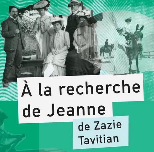 Dans la famille, tout le monde sait qui est Jeanne mais personne ne parle d'elle. Car Jeanne a été déportée à Sobibór, en Pologne, et n'est jamais revenue. À la recherche de Jeanne est une enquête en cinq épisodes de Zazie Tavitian, soutenue par la Fondation pour la Mémoire de la Shoah.