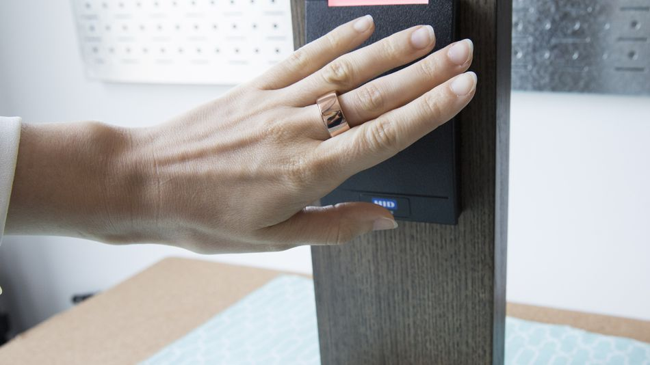 NFC Ring Contactless Access Badge