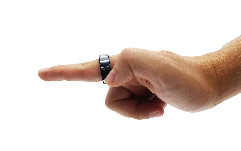 Circular Smart Ring push button