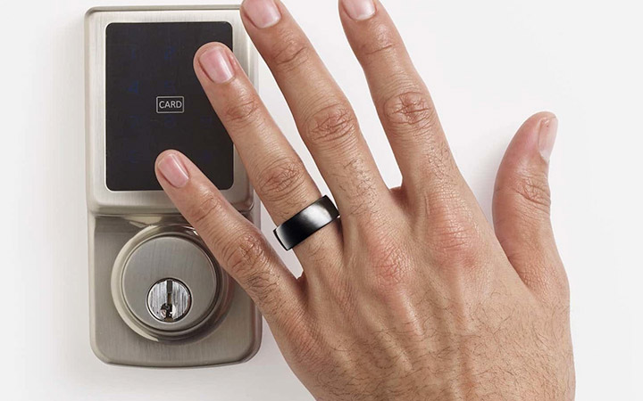 contactless key smart ring