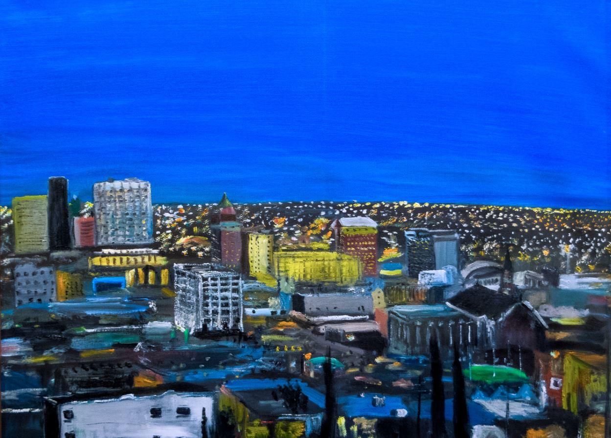 El Paso at Night