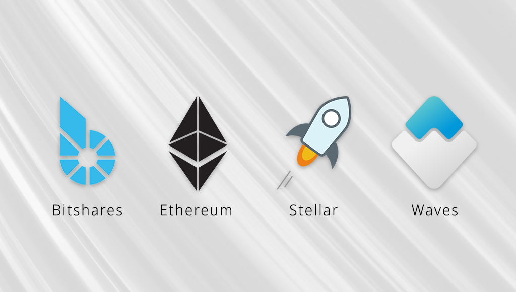 BitShares, Ethereum, Stellar and Waves, we look into the blockchains you can build decentralised exchanges on.