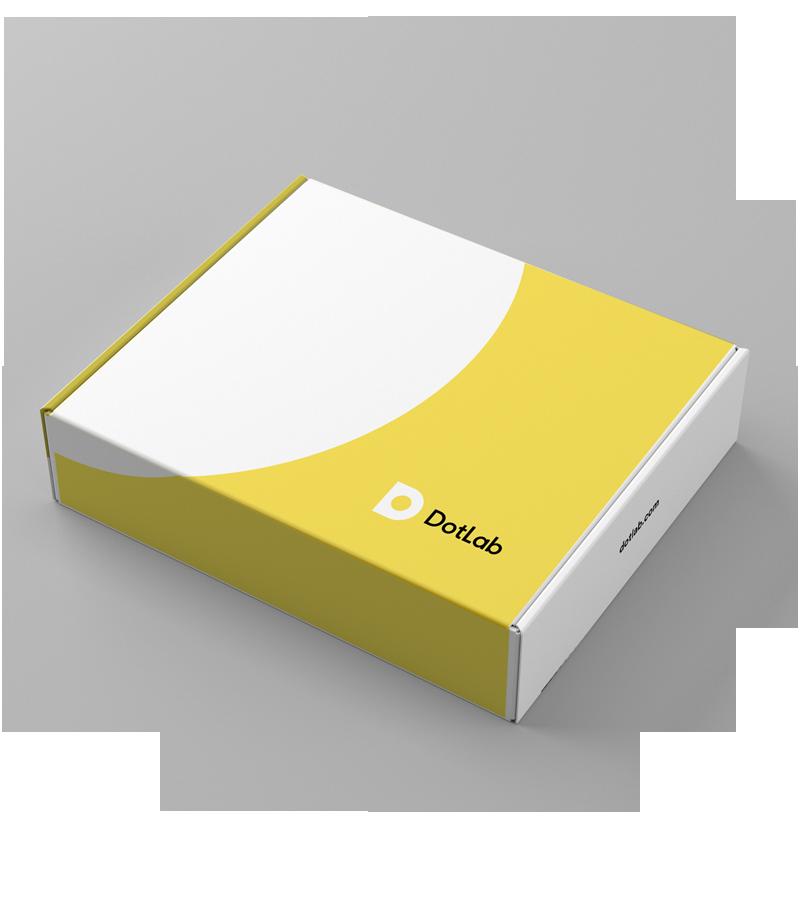 illustrative product box