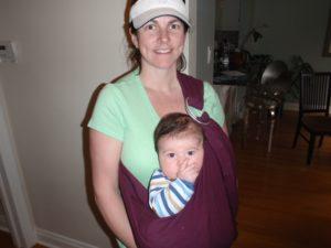 Helping Babies Sleep - Sarah Mitchell Babywearing
