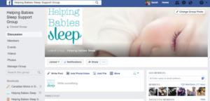 Helping Babies Sleep Support Group