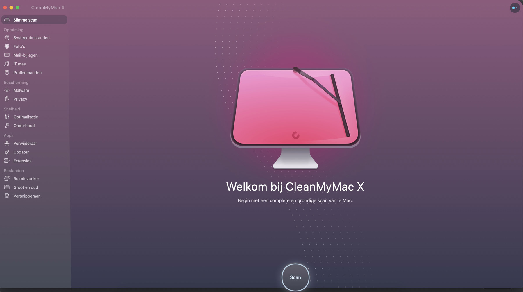 CleanMyMac interface