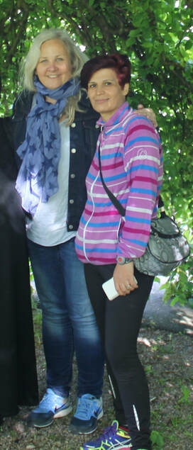 Raeda og Monica