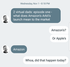 Text exchange
