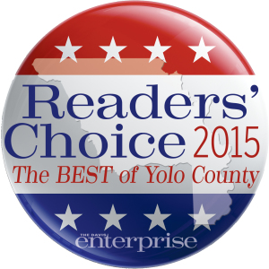 Jeff Likes Clean Windows & Gutters won the Readers Choice 2015 award for being the best of Yolo County